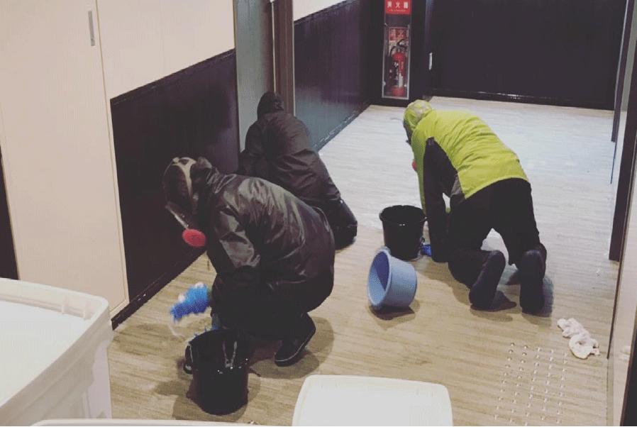 清掃の特徴